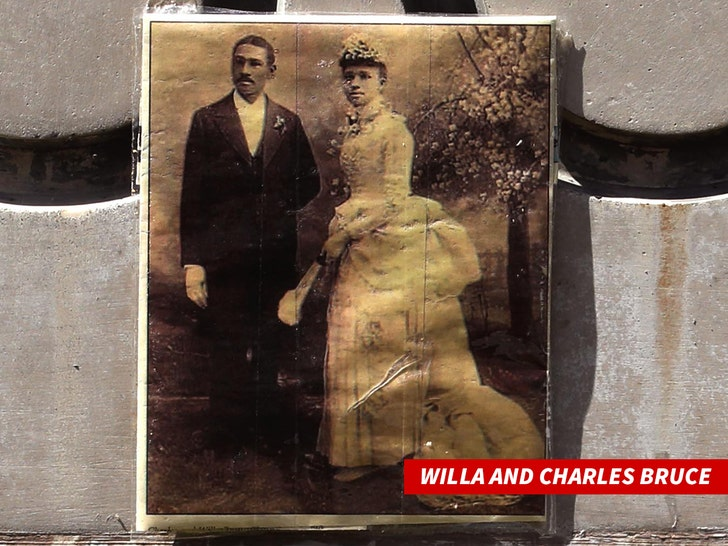 Willa and Charles Bruce