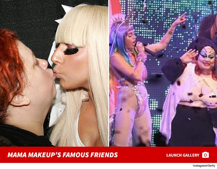 Mama Makeup's Famous Friends