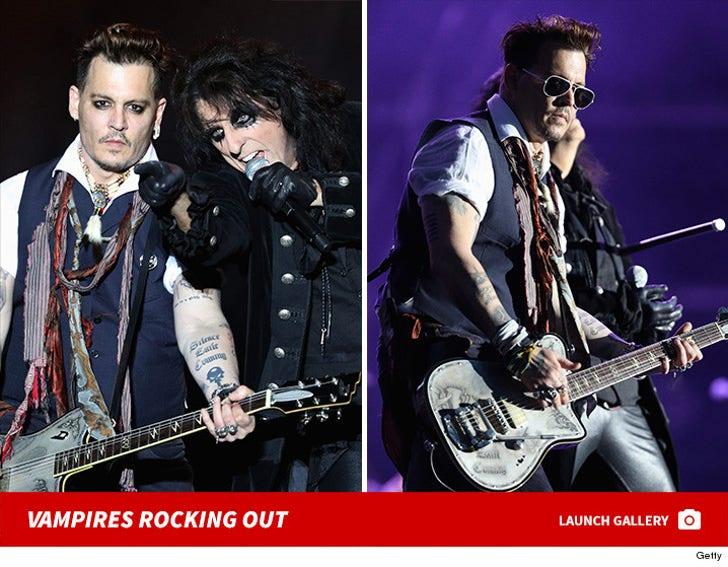 Johnny Depp's Vampires Rocking Out