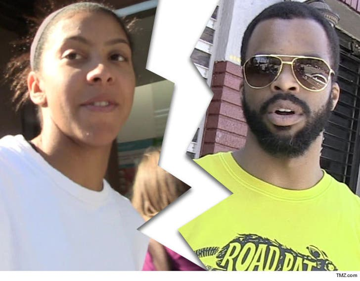 WNBA's Candace Parker's Husband Files for Divorce