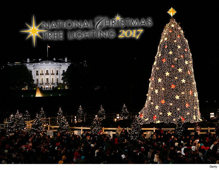 National Christmas Tree Lighting.Trump S National Christmas Tree Lighting Cost Goes Up From