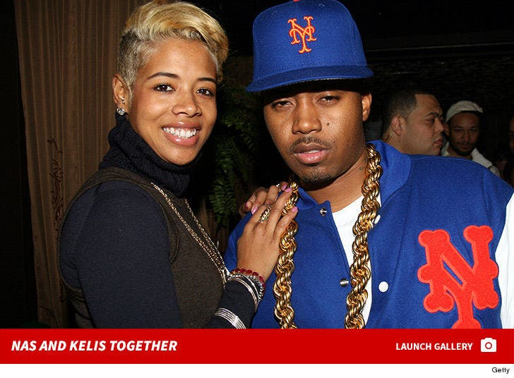 Nas and Kelis Together