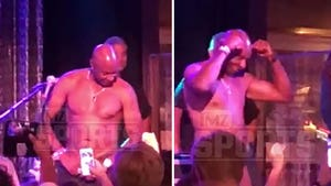 Jerry Rice Busts Out Topless Tahoe Stripper Moves Again