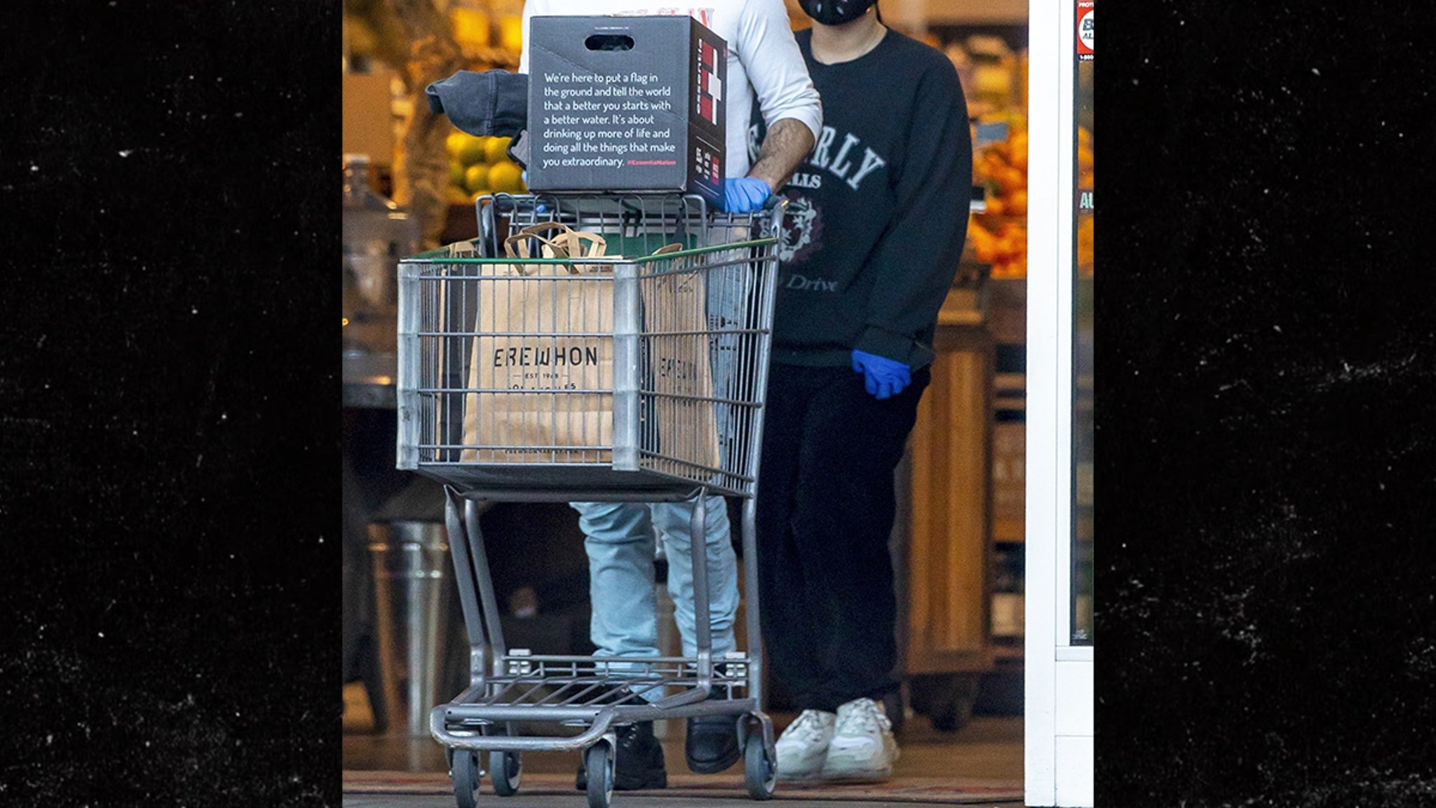 Demi Lovato and Boyfriend Max Ehrich Grocery Shop During Coronavirus Pandemic