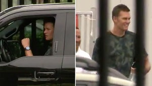Tom Brady Arrives At Buccaneers Facility For COVID Testing, 1st Day On The Job!