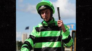 Jockey Banned From Racing For 1 Year After Allegedly Kicking A Horse Twice