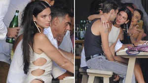 Dua Lipa Gets Cozy with Anwar Hadid During Lunch Date in Ibiza
