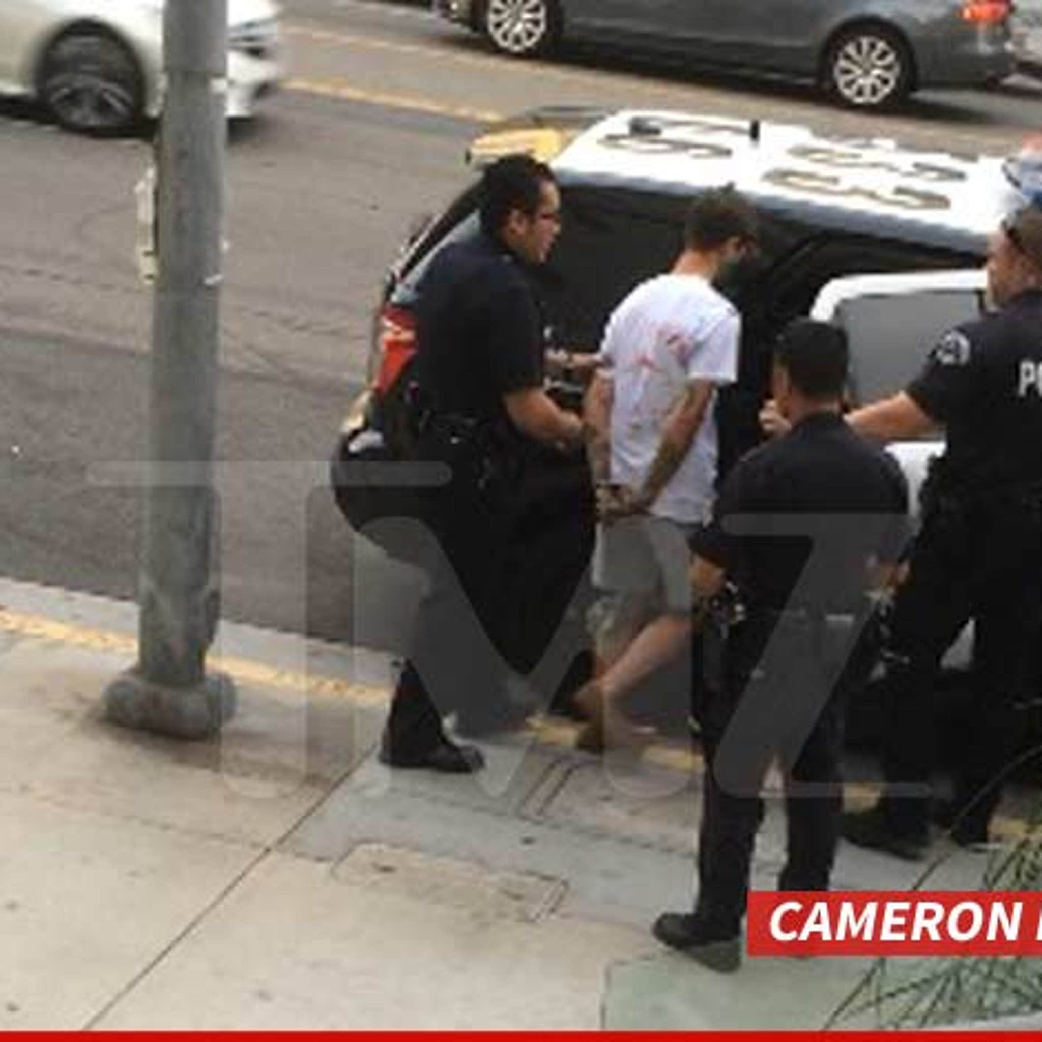 Vine' Star Cameron Dallas -- Arrested After Telling Landlord, 'Screw
