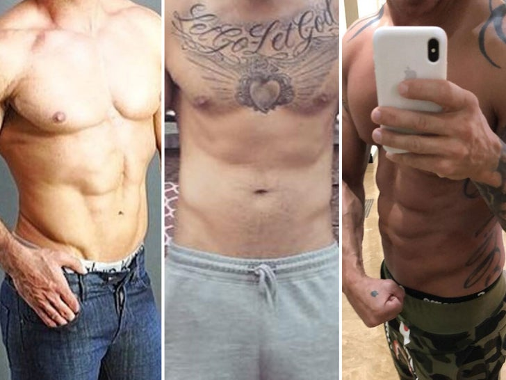 'Jersey Shore' Ripped Bods -- Guess Who!