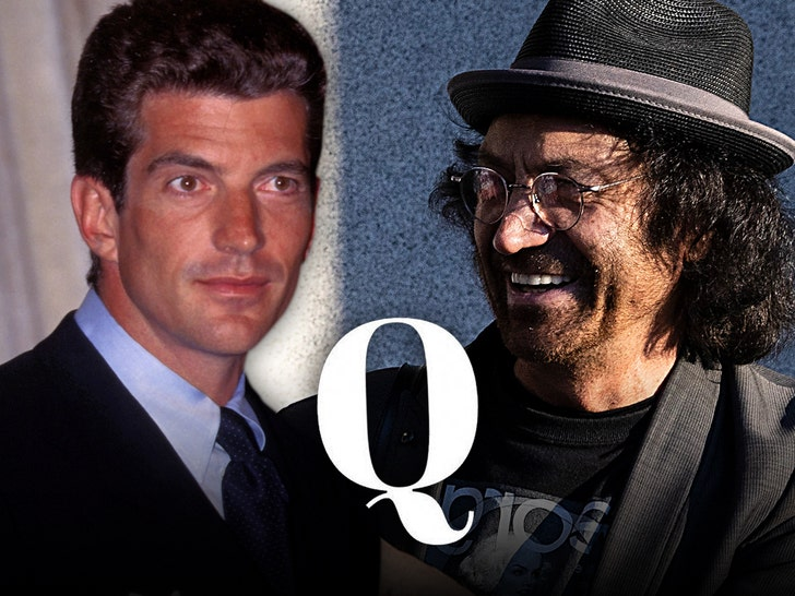 John F Kennedy Jr and Vincent Fusca