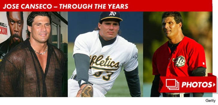 Jose Canseco Through The Years