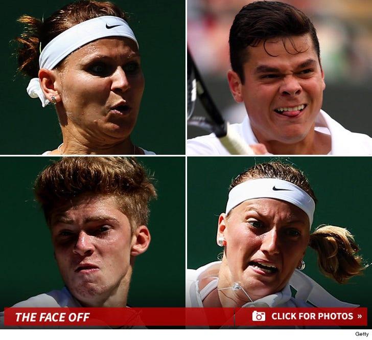 Wacky Faces of Wimbledon
