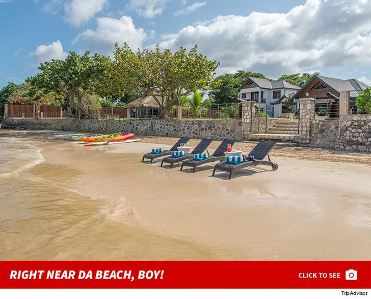 Serena's Jamaica House -- Right Near Da Beach, Boy!