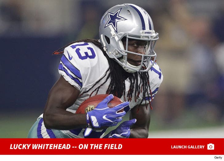 Lucky Whitehead -- On the Field