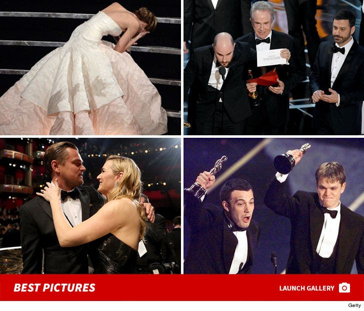 The Best Moments in Academy Awards History