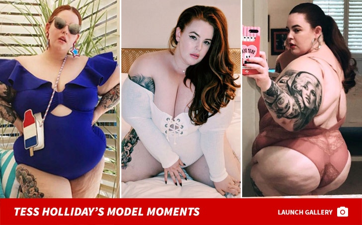 Tess Holliday's Model Moments