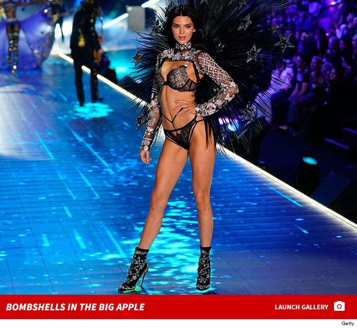 Victoria's Secret Angels Hit the Runway