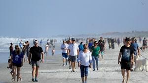 Florida Beaches Packed As Trump Cajoles People to Break Quarantine