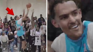 Trae Young Mobbed By Fans After Hitting Insane Game-Winner In Pro-Am League