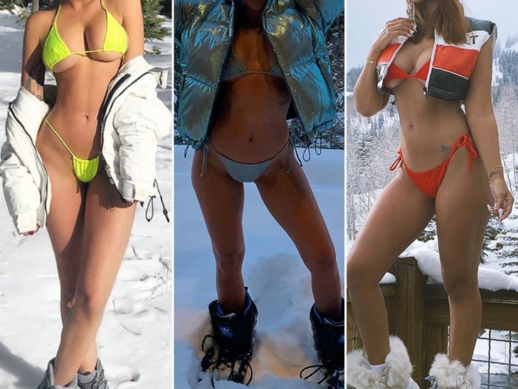 Hot Babes In Cold Snow -- Guess Who! - EpicNews