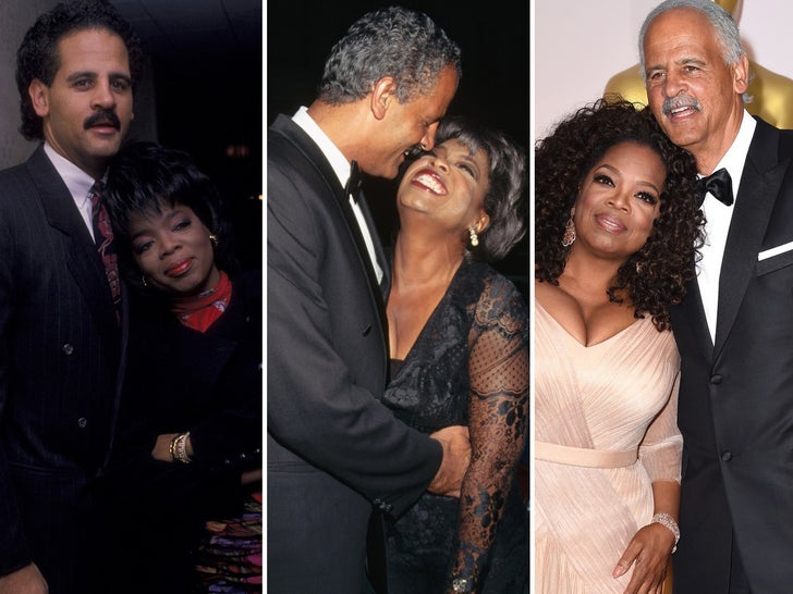 Oprah and Stedman -- Love Through The Years