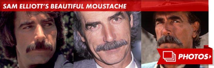 Sam Elliott's Beautiful Moustache