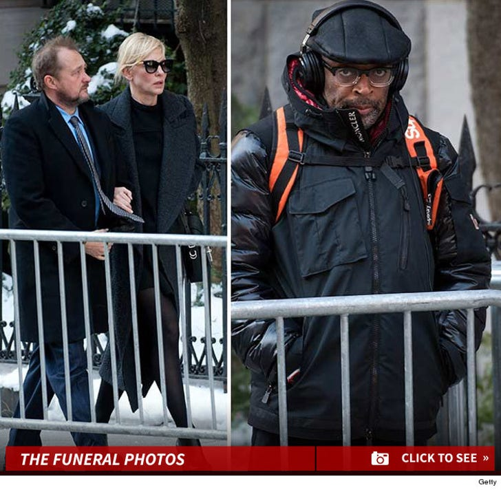Philip Seymour Hoffman's Famous Friends Flock to Funeral