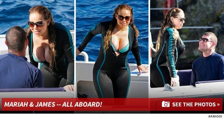 Mariah Carey & James Packer's Super Soaked Adventure!