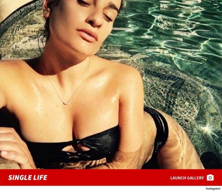 Lea Michele's Sexy Snapshots