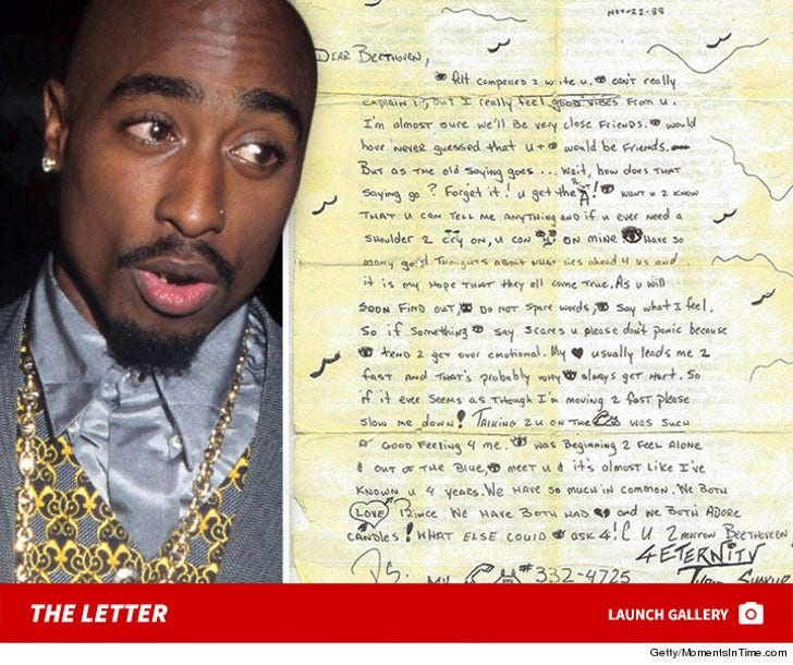 Tupac's Love Letter