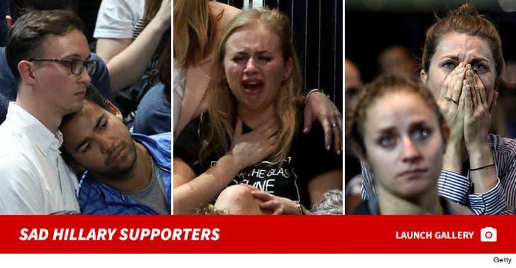 Upset Hillary Clinton Supporters