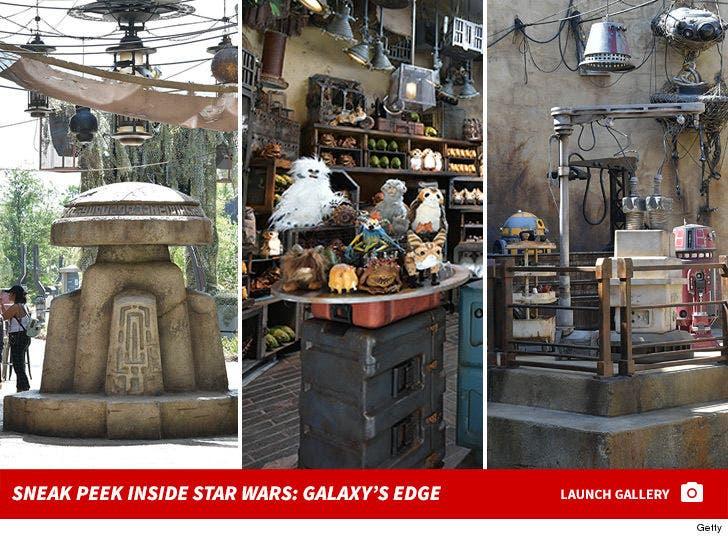 Sneak Peek Inside Star Wars: Galaxy's Edge