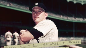 Mickey Mantle Handwritten Note For Sale, Don't Drink Or Do Drugs!!