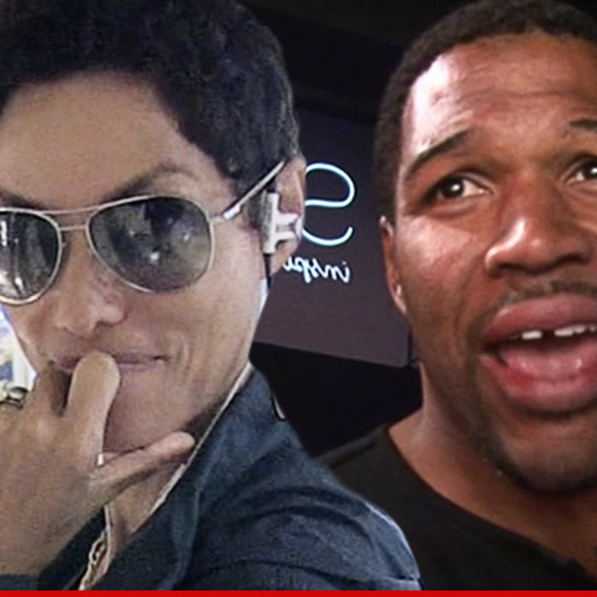 Michael Strahan and Nicole Murphy -- Breakup Announcement Triggered