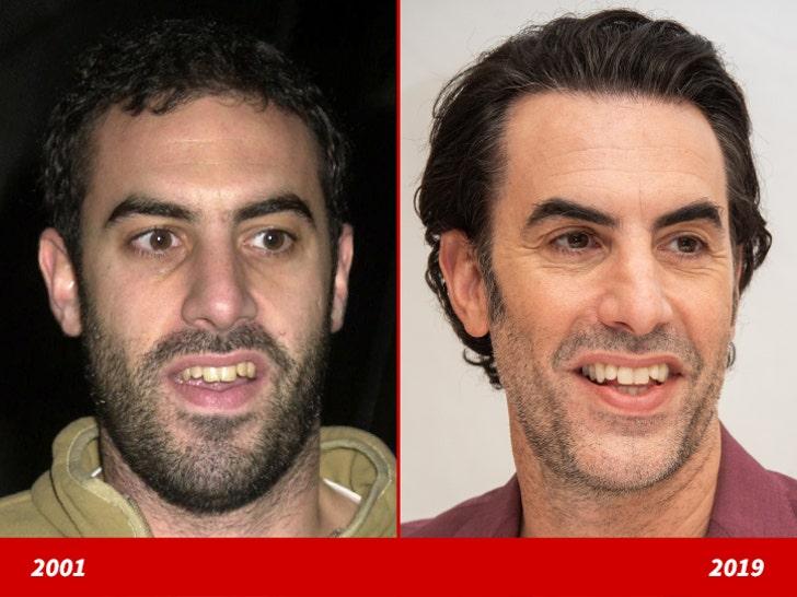 Sacha Baron Cohen -- Good Genes or Good Docs?! Sacha Baron Cohen Spouse