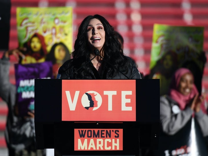 Cher's Awesome Activism