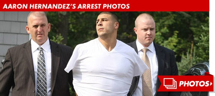 Aaron Hernandez's Arrest Photos
