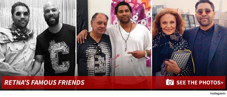 Retna's Famous Friends