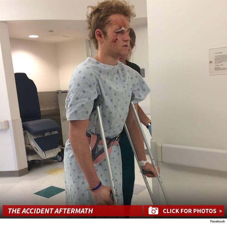 Dalton Gray's Drunk Driver Injuries