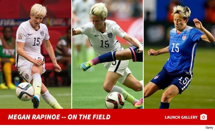 Megan Rapinoe -- On the Field