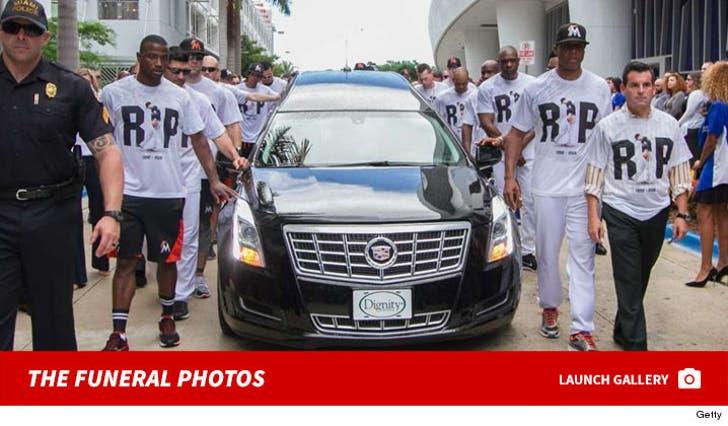 Jose Fernandez -- The Funeral Photos
