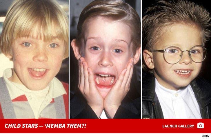 Child Stars -- 'Memba Them?!