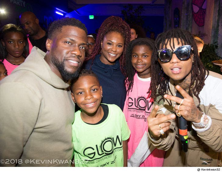 Kevin Hart and Ex-Wife Throw Daughter 'Black Panther'-Themed