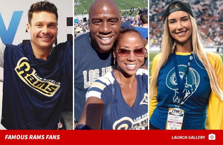 Famous LA Rams Fans