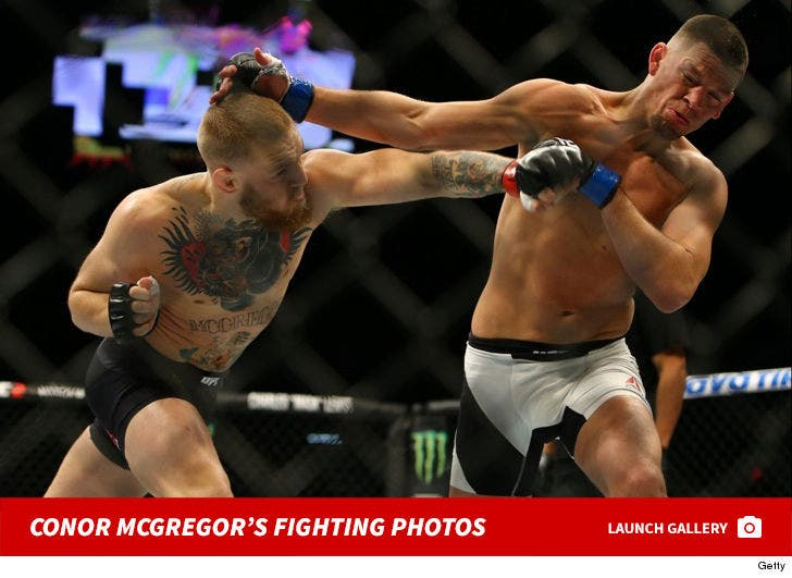 Conor McGregor's Fight Photos