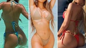 Kardashian Sisters Hot Shots Of 2020 -- Guess Who!