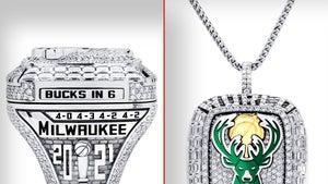 Milwaukee Bucks' Championship Rings Feature Pendant Option