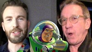 Chris Evans as Young Buzz Lightyear Seen as Political Shot at Tim Allen