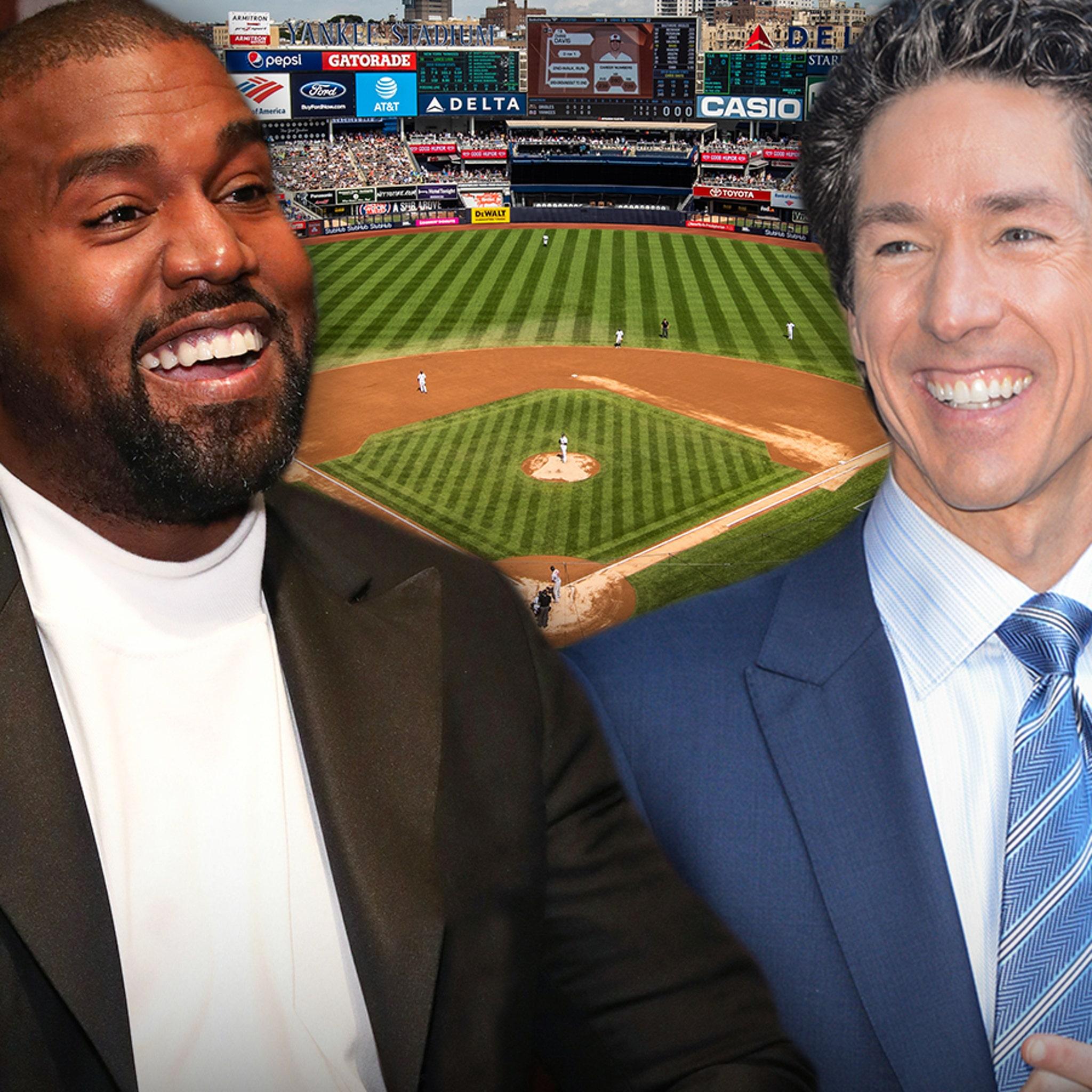 Kanye West Joining Joel Osteen for Huge Yankee Stadium 'Night of Hope'