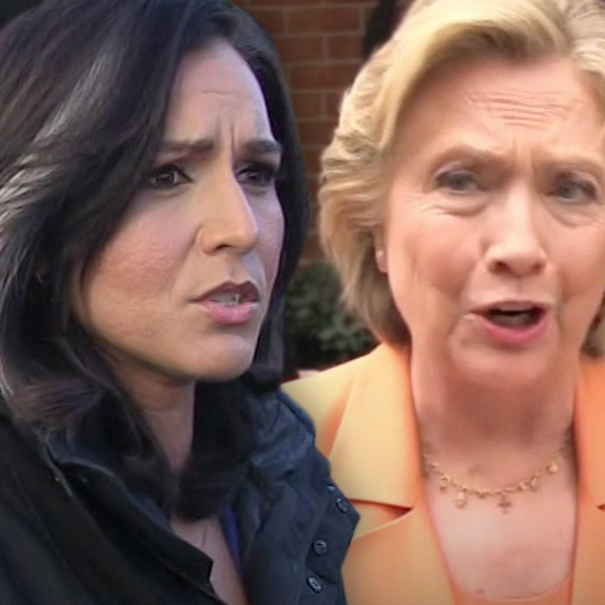 Rep. Tulsi Gabbard Sues Hillary Clinton for Defamation Over 'Russian' Claim